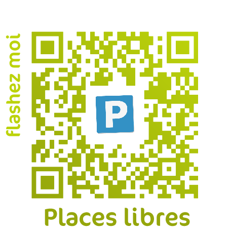 Les places de parkings QRCode