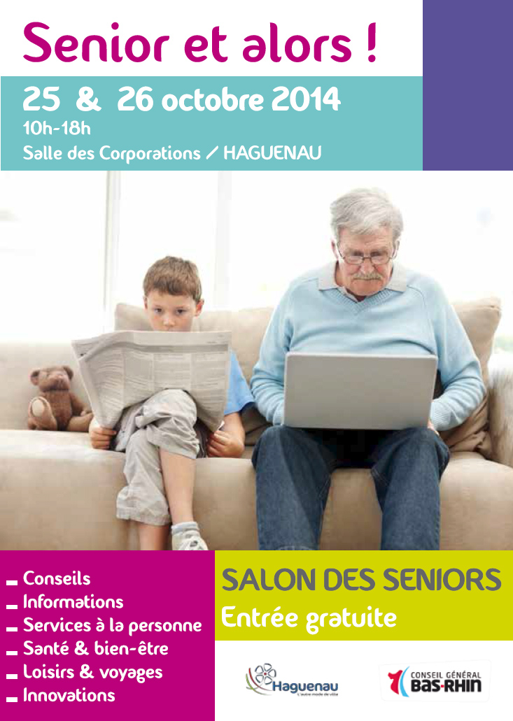 Salon senior et alors haguenau l 39 autre mode de ville for Salon seniors