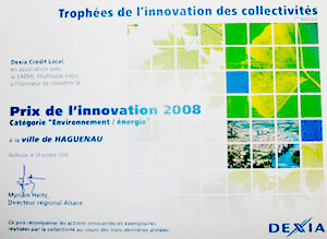 Trophée de l'innovation